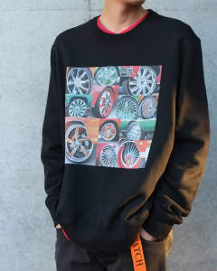 Spinners Photo Crewneck